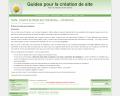 Guides pour la création de site internet